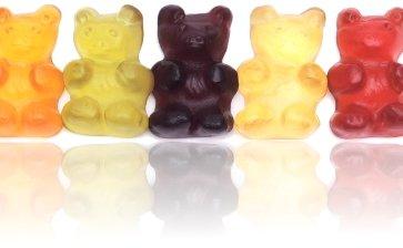 Große Fruchtsaft Bären