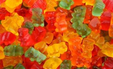 Gummibärchen ohne Zucker
