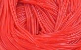 Spagetti Schnüre Rot Erdbeere